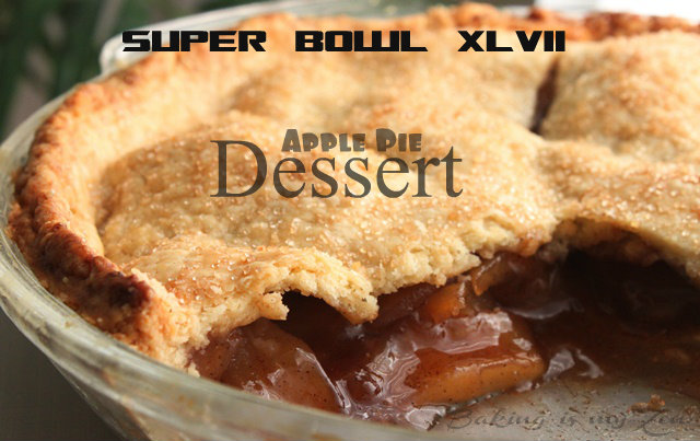 Super Bowl 47-Apple Pie Dessert