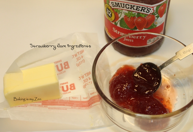 strawberry butter ingredients